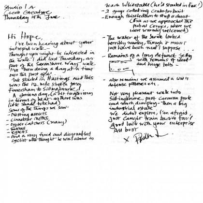 Priscilla's Note