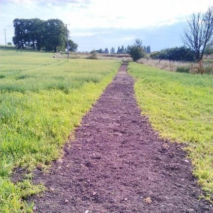 A clear footpath!