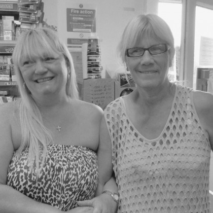 Kim and Mary, Eastchurch Holiday Centre General Stores