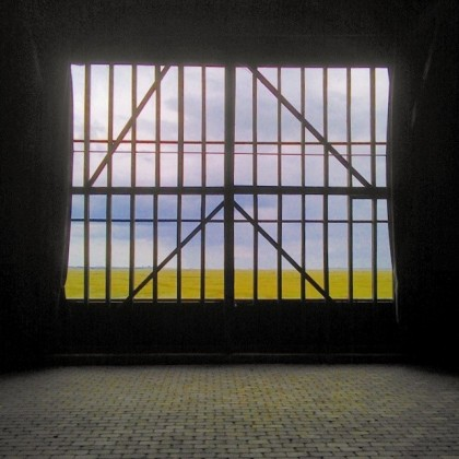 The view from inside the Barn at Elmley, beautiful light any time of year